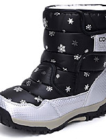 cheap -ubella boy's girl's outdoor waterproof insulated snowflake winter snow boots (little kid/big kid) black