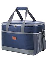 cheap -Unisex Bags Oxford Cloth Top Handle Bag Zipper Plain 2021 Daily Wine Navy Blue Gray