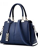 cheap -women lady fashion designer tote handbag top handle satchel work bag, blue