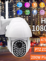 cheap -Wifi IP Camera 47 LED 1080P 2MP Outdoor CCTV Surveillance Wireless Camera IP66 Speed Dome 4XZoom IR Network Security