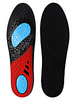 cheap -Shoe Inserts Running Insoles Sneaker Insoles Women's Men's Sports Insoles Foot Supports Shock Absorption Stink Prevention Breathable for Fitness Gym Workout Running Fall Winter Spring Black / Red