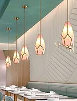 cheap -16 cm LED Pendant Single Desgin Nordic Copper Brass Modern Dinning Room Bedside Light Christmas Decoration 110-120V 220-240V