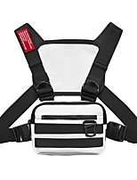 cheap -Running Backpack Vest Chest Bag Utility Rig 0-20 L for Fitness Gym Workout Marathon Running Sports Bag Waterproof Adjustable Size Wearable Reflective Strip Mini Nylon Men's Women's Running Bag Adults