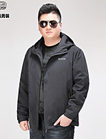 cheap -men's big evapouration jacket, black, 5x