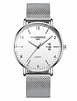 cheap -watches for men ultra-thin minimalist waterproof fashion wrist watch for men with stainless steel mesh band