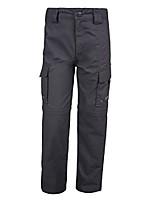 cheap -active kids zip off trouser dark grey 7-8 years