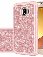 cheap -galaxy j2 case,galaxy j2 core/j2 dash/j2 pure/j2 shine/j2 2019 case, glitter bling cute girls phone protection cover for samsung galaxy j2 core (rose gold)