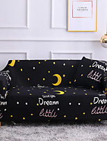 cheap -Moon Print 1-Piece Sofa Cover Couch Cover Furniture Protector Soft Stretch Slipcover Spandex Jacquard Fabric Super Fit for 1~4 Cushion Couch and L Shape Sofa,Easy to Install(1 Free Cushion Cover)
