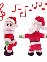 cheap -twerking santa claus-[english song] twisted hip,singing and dancing electric toy, twisted hip santa claus figure christmas xmas gift (christmas santa claus-english song)