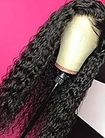 "cheap -giannay hair curly wigs for black women no lace wigs long loose wave synthetic wig heat resistant fiber 180% density natural looking middle part halloween cosplay wigs (no lace curly 24"")"