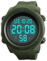 cheap -digital watches for men sports watch countdown alarm el light waterproof watch