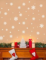 cheap -Christmas Decorations / Holiday Wall Stickers Plane Wall Stickers / Holiday Wall Stickers Decorative Wall Stickers, PVC Home Decoration Wall Decal Wall / Window Decoration 1pc