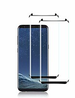 cheap -galaxy s8 screen protector by ye, [2 pack] full coverage tempered glass screen protector [3d touch] [bubble-free] [9h hardness] screen protector glass for samsung galaxy s8