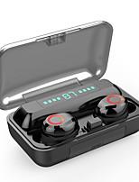 cheap -S12 TWS Wireless Bluetooth 5.0 Earphone 2000Mah Waterproof Earphones HIFI Stereo Noise Cancelling Headset Earbud