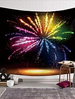 cheap -Wall Tapestry Art Deco Blanket Curtain Picnic Table Cloth Hanging Home Bedroom Living Room Dormitory Decoration Polyester Fiber Novelty Modern Colorful Gorgeous Fireworks