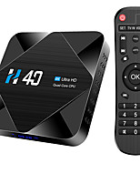 cheap -H40 TV Box Android 10 2.4G 5GHz Wifi Bluetooth 16GB 6K 3D 1080P media player YouTube Android TV Box Set top box