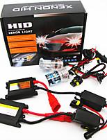 cheap -1Set High Low Beam Xenon Headlight 35W 12V H1 H3 H7 H11 9005 9006 9012 HID Kit 6000K Xenon