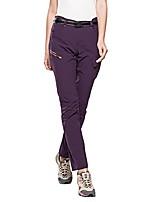 cheap -women's climbing hiking quick dry pants - large (tag size 3xl) - purple-2