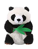 cheap -talking panda repeats what you say educational talking toy repeating panda toy gift for kids age 3+ (panda a)