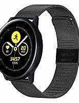 cheap -compatible with samsung galaxy watch active band/active 2 band/galaxy watch 42mm band,20mm mesh woven stainless steel strap watch band for galaxy active 40mm watch band/active 2 44mm band golden