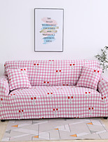 cheap -Cherry Print 1-Piece Sofa Cover Couch Cover Furniture Protector Soft Stretch Slipcover Spandex Jacquard Fabric Super Fit for 1~4 Cushion Couch and L Shape Sofa,Easy to Install(1 Free Cushion Cover)