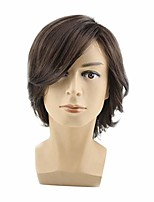cheap -short hair wigs heat resistant synthetic daily party wig for men natural as real hair