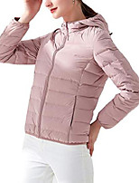 cheap -lightweight puffer jacket for women packable down coat warm winter waistcoat outwears (xl, pink)
