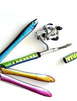 cheap -Fishing Rod and Reel Combo Pen Rod 100 cm Mini Portable Heavy (H) Sea Fishing Bait Casting Ice Fishing