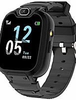 cheap -kids smart watch for boys girls, kids phone watch with calls games music player camera alarm clock calculator sos calendar touch screen flashlight smartwatch for 4-12 years old birthday gift (black)