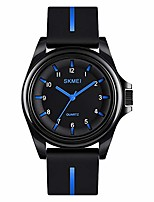 cheap -boys analog watch, waterproof analog quartz watch casual dress wrist watch with numbers second hands
