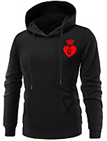 cheap -Inspired by Cosplay Queen Cosplay Costume Hoodie Terylene Graphic Printing Hoodie For Women's