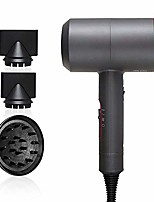 cheap -negative ionic hair dryer,  3-in-1 multifunctional styling tools hairdryer hair blow dryer fast straight hot air styler constant temperature hair care without damaging hair (grey & rose red)