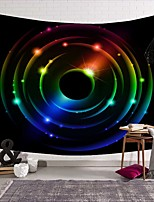 cheap -Wall Tapestry Art Deco Blanket Curtain Picnic Table Cloth Hanging Home Bedroom Living Room Dormitory Decoration Polyester Fiber Still Life Modern Color Starry Sky