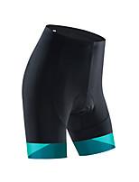 cheap -Women's Cycling Bib Shorts Cycling Shorts Bike Bottoms Breathable Quick Dry Sports Black / Green / Black / White Mountain Bike MTB Road Bike Cycling Clothing Apparel Bike Wear / Stretchy / Athletic