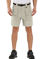 cheap -men's quick dry shorts for hiking, camping, travel casual active relaxed cropped bermuda shorts(6033,apricot,29)