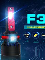 cheap -2Pcs High Power Led Headlight H4 H11 9005 9006 Led Headlamp 45W 10000LM 6500K White Mini Super Bright Car Light Fog Lamp