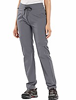 cheap -women's hiking pants outdoor lightweight athletic capris pants quick dry water resistant upf 50#2195 grey-30