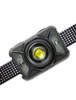 cheap -TM-K20 Headlamps USB LED Light 1200 lm LED Emitters 4 Mode Portable LED Durable Lightweight Camping / Hiking / Caving Everyday Use Fishing Black