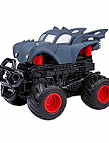 cheap -inertia stunt bounce deformation car off road model car vehicle kids toy gift - transformrobot racing vehicle toys - inertial model vehicle xmas gift for kids children (blue)