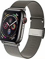cheap -compatible for apple watch band 38mm 40mm 42mm 44mm, wristband loop replacement band for iwatch series 6,series 5,series 4,series 3,series 2,series 1,graphite,38mm/40mm