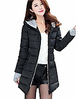cheap -ladies winter coats 2018 sale clearance women long sleeve outerwear with gloves cotton padded jackets pocket hooded coat black