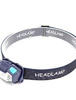 cheap -TM-045 Headlamps USB LED Light 350 lm LED Emitters 5 Mode Portable LED Durable Lightweight Camping / Hiking / Caving Everyday Use Fishing Black