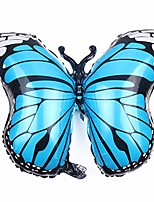 cheap -new large butterfly foil balloon for baby shower kids girl birthday jungle party decoration inflatable air balloon animal globos,sky blue
