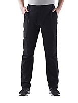 cheap -men's quick dry outdoor sports pants lightweight cargo pants water resistant hiking pants black 34