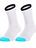 cheap -unisex sport cycling socks breathable comfortable training compreesion mid calf socks for running climbing
