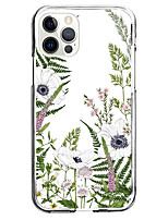 cheap -Flower Case For Apple iPhone 12 iPhone 11 iPhone 12 Pro Max Unique Design Protective Case and Screen Protector Shockproof Back Cover TPU