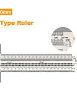 cheap -High-precision Scale Ruler T-type Hole Ruler Stainless Woodworking Scribing Mark Line Gauge Carpenter Measuring Tool