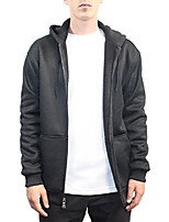 cheap -mens thermal shell quilted fleece jacket (x-large, black)