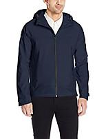 cheap -men's waterproof windbreaker jacket, hawke navy, l