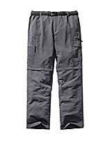 cheap -hiking pants men convertible quick dry durable cargo fishing uv protection safari pants,6101,gray,34